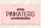 Pinkaters Font