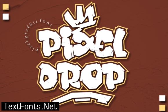 Pixeldrop Font
