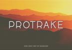 Protrake Font