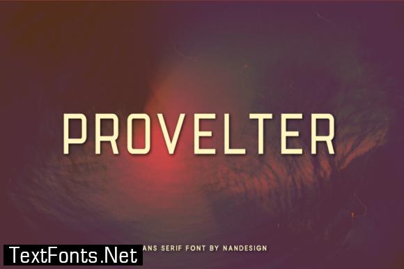 Provelter Font