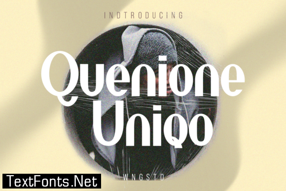 Quenione Unico Font