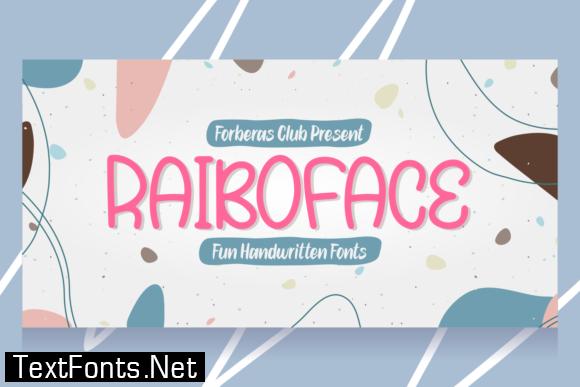Raiboface Font