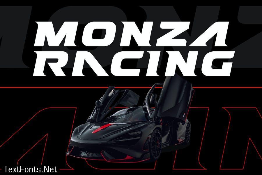 Refault - Sport Racing Game Font