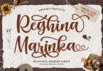 Reghina Marinka Font
