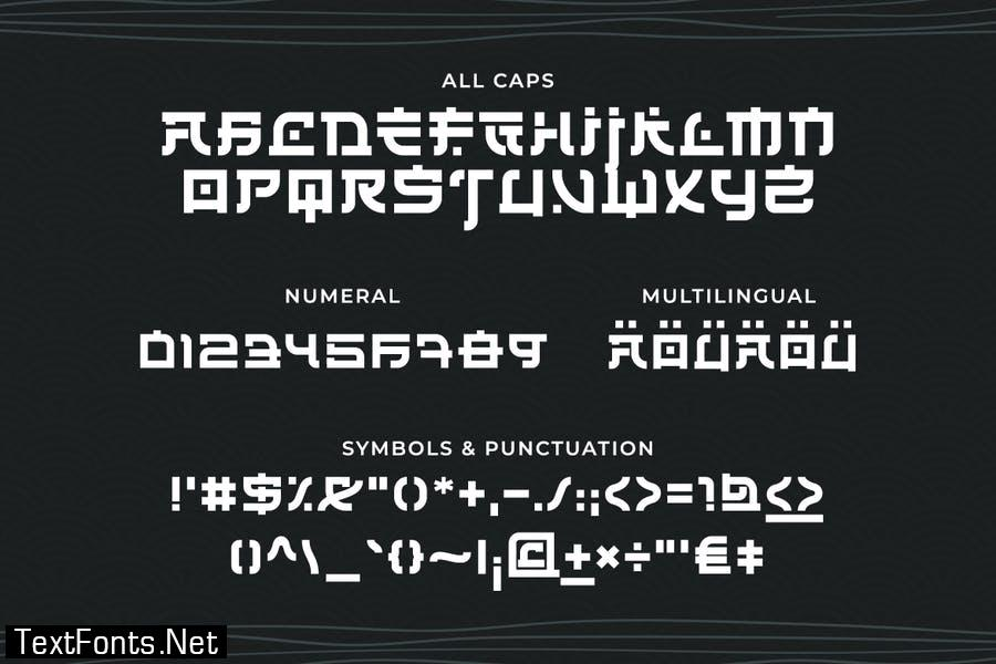 Renji – Japanese Font Style