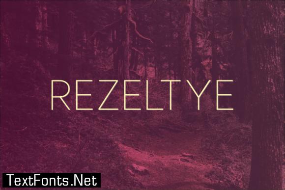 Rezeltye Font