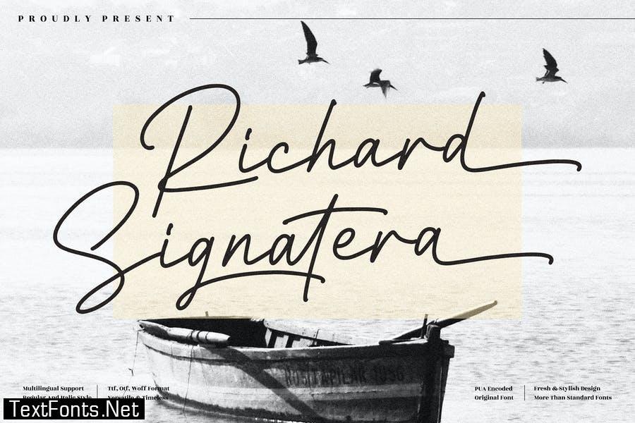 Richard Signatera Signature Script LS