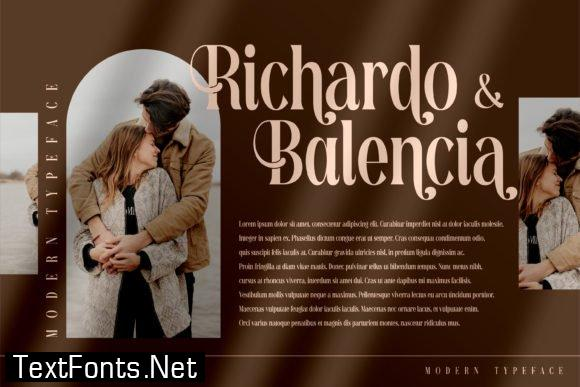 Richardo Flacky Font
