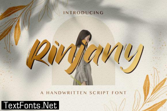 Rinjany Font