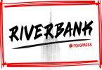RIVERBANK - - Aggressive graffiti font