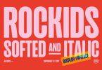 Rockids Softed Font
