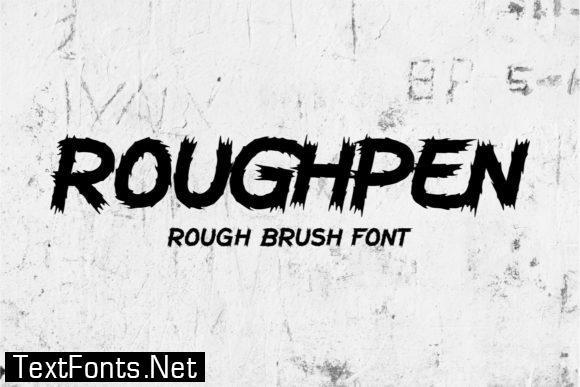 Roughpen Font
