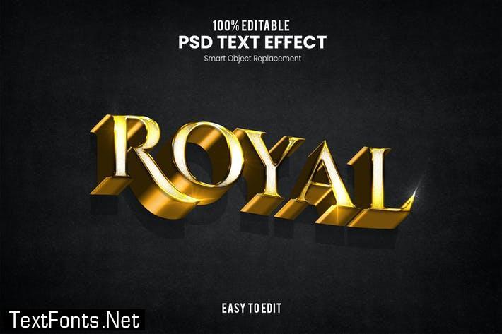Royal-3D Text Effect