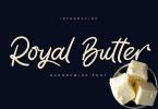 Royal Butter Font