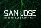 San Jose Font