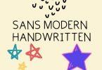 Sans Modern Font