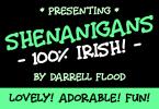 Shenanigans Font