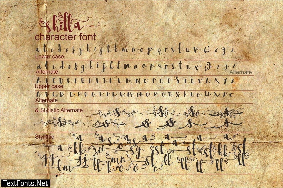Shilla Font