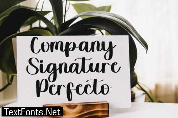 Signature Christmas Font