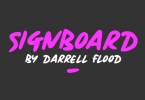 Signboard Font