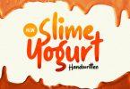 Slime Yogurt Font