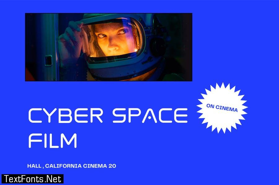 Spaced - Future Display Font