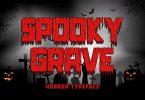 Spooky Grave Font