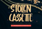 Stolen Cassette - Playful Display Font