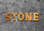 Stone Text Effects L6SZCEV