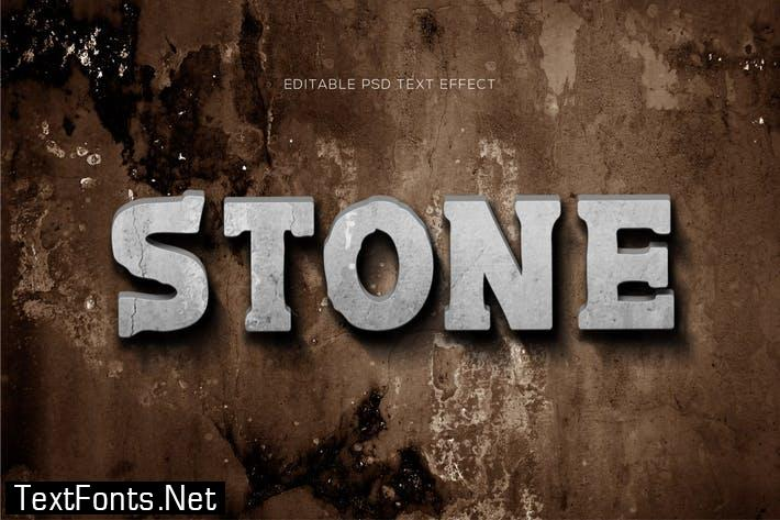 Stone Text Effects