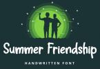 Summer Friendship Font