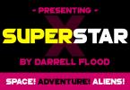 Superstar X Font