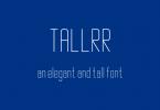 Tallrr Font