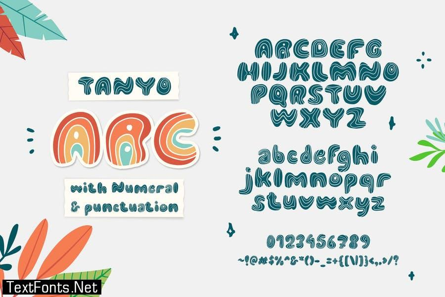 Tanyo Typeface Font