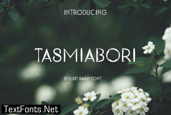 Tasmiabori Font