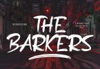 The Barkers Brush Font