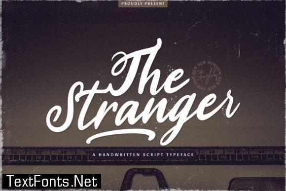 The Stranger Font