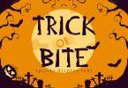 Trick or Bite - Halloween Font