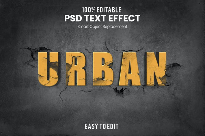 Urban-3D Text Effect HKCEDVS