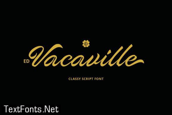 Vacaville Script Font