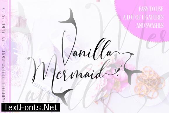 Vanilla Mermaid Script Font