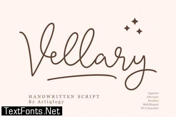 Vellary Font
