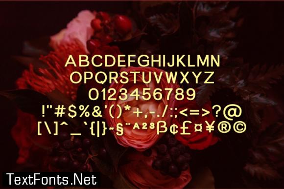 Verberd Font