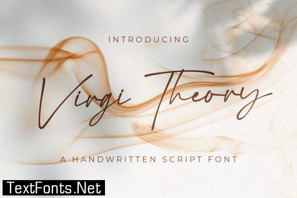 Virgi Theory Font