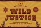 Wild Justice – Western Display Font