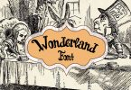Wonderland Script Font