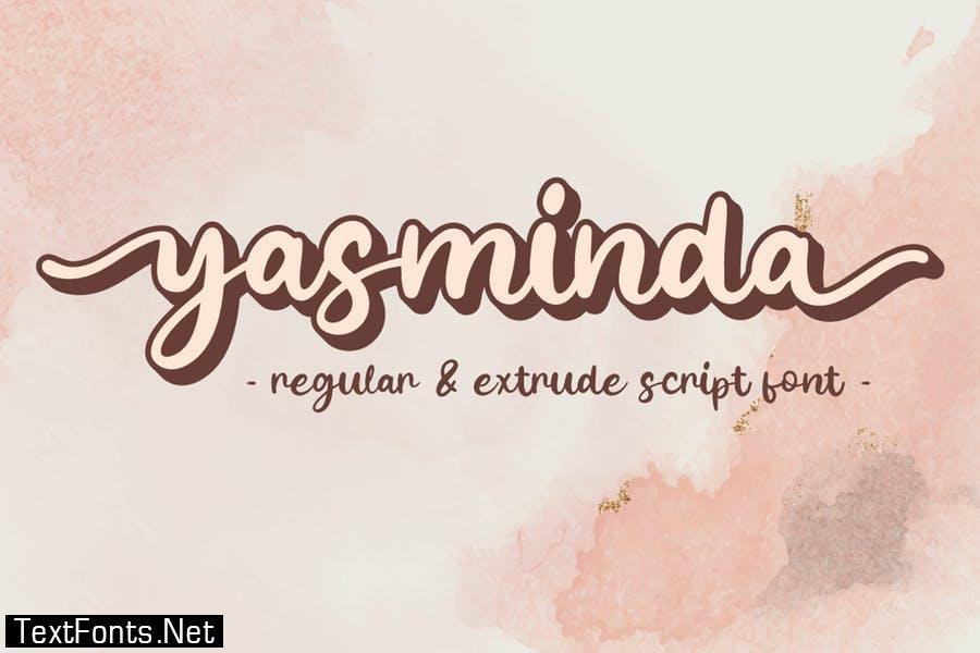 Yasminda - Script Font