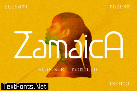 Zamaica Font