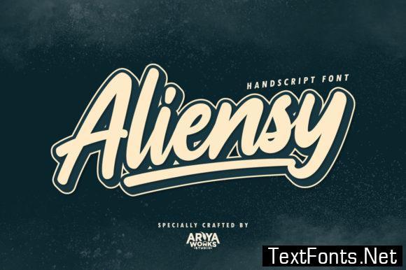 Aliensy Font