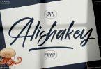 Alishakey Handwritten Script LS